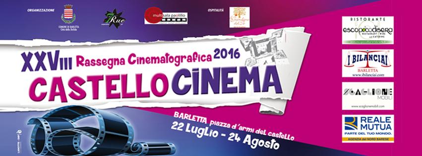 Castello Cinema - eventi barletta